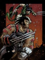 AoA  Wolverine and X23 by sacking-jimmy