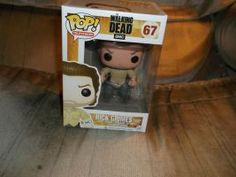 Funko POP! Walking Dead Prison Yard Rick Grimes by godofwarlover