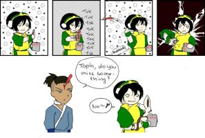 Toph, the tin-opener by Schokopocky