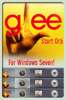 Glee Start Orb for Win 7 by MiniDoc569