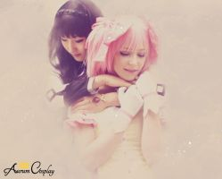 Homura and Madoka Cosplay - Together Forever by AurumCosplay