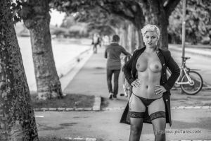 Nude in Public more on my Website by DNFotodesign