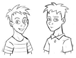 Disney Style: Phineas and Ferb by JaviDLuffy