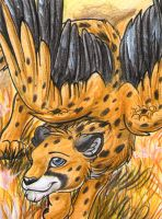 ACEO: Cybre by RaikaDeLaNoche