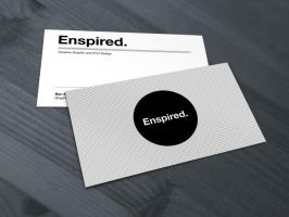 Enspired Business Cards by benbate