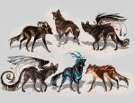 Maned Wolfpack Adopts5 (closed) by Furrirama