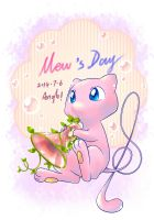 Mew s day by Angle-007