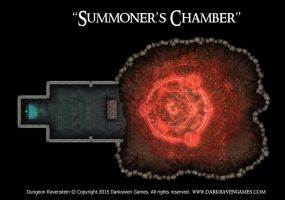 Dungeon Ravenstein - Summoner's Chamber by Girot