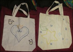 Kingdom Hearts Inspired Tote by Sansansan
