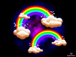 Rainbows in the Sky by munchester2cool