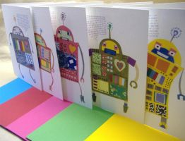 Robot card set by philippajudith