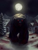 Bear Krom (Commission) by TheObliviousOwl