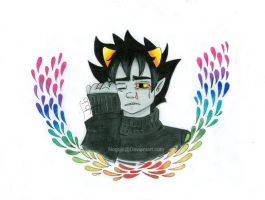 Karkat For Dragonnova by Nogojo