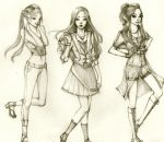 Pose for Fashion by manga-drawing-luver