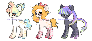 OPEN - Random themed ponies by Carnivvorous