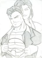 Lois and Clark by greasedlytning
