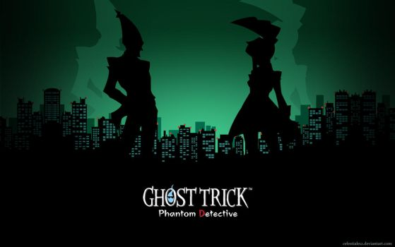 Ghost Trick - Sissel and Lynne by Celestiale12