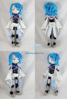 Kingdom Hearts Aqua Plush by dollphinwing