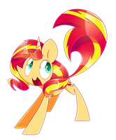 Happy Sunset by PegaSisters82