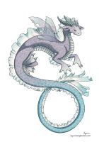 water dragon by ingunnbf