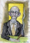 The Cigar man, 1998 version by larkin-art