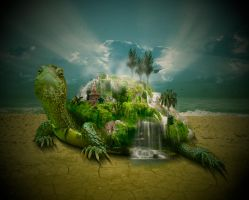 Traveling Island by kittleson013006