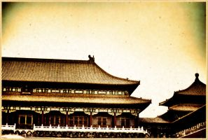 Forbidden City Beijing China by davidmcb