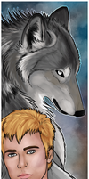 Quinton Bookmark Commission by sugarpoultry