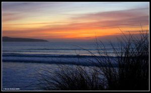 Gwithian Sunset by Kernow-Photography