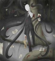 Slenderman by Likesac