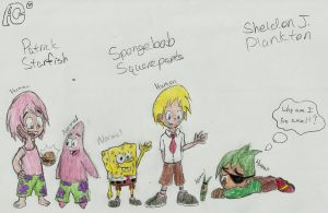Spongebob Humanization! :D by AnvilCrazy