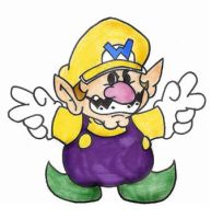 Paper Wario by iceclimbers87