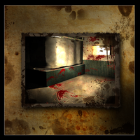 'horror' Bathroom by Artush