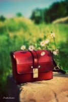 Red Bag by Bluetenzauber