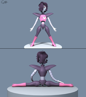 Mettaton EX 3D Model by skunkdude13