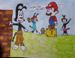 Mario and the Warners by Jellybabiebunny