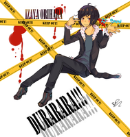 Izaya Orihara by Cookayz95