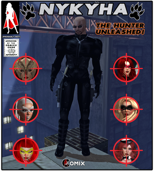 Preview: Nykyha - The Hunter Unleashed by Centrilia