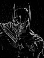 Batman Black Rain by Graymalkin2112
