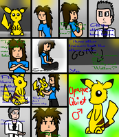 Behind Closed Curtains: A Yellow Nuzlocke 1 by alterene