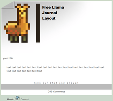 Free Llama Journal by AskGooroo