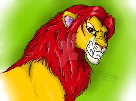 Simba by TigaLioness
