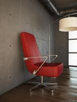 Red Chair 3D by konceptsketcher