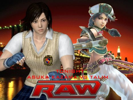 ACW Raw - Asuka vs Talim by thephilipvictor