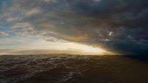 Stormy Sea by nihost