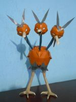 Dodrio Papercraft by aquametal
