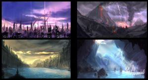 Environment Concepts SET 01 by mansarali
