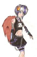 risu as a vocaloid by charly-d-squirrel