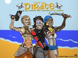 ME2 DA2 Go pirate by Epantiras
