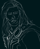 The Making of Thor - Painting Process GIF by StarshipSorceress